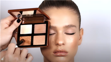 נטאשה דנונה | The Ultimate Warm-Toned Bronze Cheek Palette
